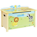 Savanna Smiles Toy Box, African Safari Themed Furniture | Baby Furniture | ABaby.com