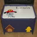 Choose Your Theme Toy Box, Kids Toy Boxes | Personalized Toy Chest | Bench | ABaby.com