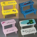 Choose Your Theme Step Stool, Personalized Kids Step Stools | Step Stools for Toddlers | ABaby.com