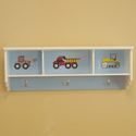 Construction Wall Shelf, Train Nursery Decor | Train Wall Decals | ABaby.com