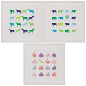 Animal Sudoko Series, Kids Wall Art | Neutral Wall Decor | Kids Art Work | ABaby.com