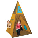 Giant Tee-Pee, Outdoor Playhouse | Kids Play Houses | Kids Play Tents | ABaby.com