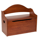 Arched Back Toy Box, Kids Storage Bins | Personalized Kids Toy Boxes | ABaby.com
