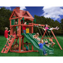 Double Down Swing Set, Kids Swing Sets | Childrens Outdoor Swing Sets | ABaby.com