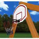 Basketball Hoop And Ball, Kids Swing Set Accessories |Outdoor Swing Sets | ABaby.com