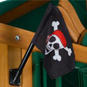 Pirate Flag Kit, Kids Swing Set Accessories |Outdoor Swing Sets | ABaby.com