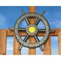 Large Ship Wheel, Kids Swing Set Accessories |Outdoor Swing Sets | ABaby.com