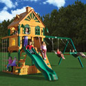 Riverview Swing Set, Kids Swing Sets | Childrens Outdoor Swing Sets | ABaby.com