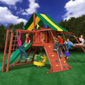Sun Valley II Swing Set , Outdoor Toys | Kids Outdoor Play Sets | ABaby.com