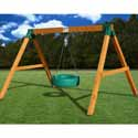 Free Standing Tire Swing, Kids Swing Sets | Childrens Outdoor Swing Sets | ABaby.com