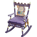 Grandchild's Throne Rocker, Kids Chairs | Personalized Kids Chairs | Comfy | ABaby.com