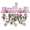 Pink Blossom Chandelier, Nursery Lighting | Kids Floor Lamps | ABaby.com