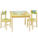 Savanna Smiles Table and Chair Set, African Safari Themed Furniture | Baby Furniture | ABaby.com