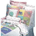 Hats and Purses Twin Bedding, Twin Bed Bedding | Girls Twin Bedding | ABaby.com