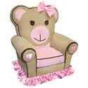Ballerina Bear Chair, Kids Rocking Chairs | Kids Rocker | Kids Chairs | ABaby.com