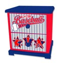 Baseball All Star Nightstand, Night Tables | Kids Night Stands | Childrens Nightstands | ABaby.com