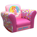 Care Bears Rainbow Rocker, Kids Upholstered Chairs | Personalized Upholstered Chairs | ABaby.com