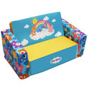 Care Bears Flip Sofa, Kids Upholstered Chairs | Personalized Upholstered Chairs | ABaby.com