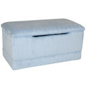 Deluxe Chenille Toy Box, Kids Storage Bins | Personalized Kids Toy Boxes | ABaby.com