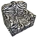 Everywhere Zebra Foam Chair, Kids Chairs | Personalized Kids Chairs | Comfy | ABaby.com