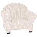 Classic Kids Cream Chenille Chair, Kids Chairs | Personalized Kids Chairs | Comfy | ABaby.com