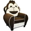 Cuddle Monkey Chair , Kids Chairs | Personalized Kids Chairs | Comfy | ABaby.com