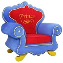 Royal Prince Chair, Princess Themed Nursery | Girls Princess Bedding | ABaby.com