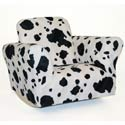 Standard Rocker Cow Print, Kids Rocking Chairs | Kids Rocker | Kids Chairs | ABaby.com