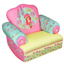 Strawberry Shortcake Rocking Chair, Kids Upholstered Chairs | Personalized Upholstered Chairs | ABaby.com