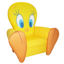 Tweety Icon Chair, Kids Chairs | Personalized Kids Chairs | Comfy | ABaby.com