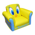 Tweety Deluxe Rocking Chair, Kids Chairs | Personalized Kids Chairs | Comfy | ABaby.com