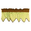 Zigzag Valance, Kids Valances | Nursery Window Valances | ABaby.com