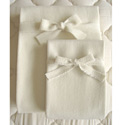 Organic Crib Puddle Pad Mattress Pad,