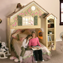 Home Sweet Home Bunk Bed, Toddler Bunk Beds | Kids Loft Beds | ABaby.com