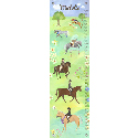 Horse Show Growth Chart, Kids Growth Chart | Growth Charts For Girls | ABaby.com