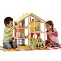 All Season Dollhouse, Doll Houses | Playsets | Kids Doll Houses | ABaby.com