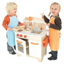 Gourmet Chef Kitchen, Kids Play Kitchen Sets | Childrens Play Kitchens | ABaby.com