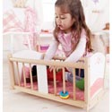 Rock-a-bye Cradle, Baby Doll House | Accessories | Doll Furnitutre Sets