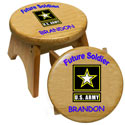 Personalized U.S. Army Stool, Personalized Kids Step Stools | Step Stools for Toddlers | ABaby.com