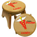 Personalized Future Doctor Stool, Personalized Kids Step Stools | Step Stools for Toddlers | ABaby.com