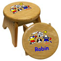 Personalized Kids Wooden Step Stool, Personalized Kids Step Stools | Step Stools for Toddlers | ABaby.com