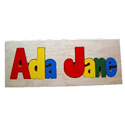 2 Name Personalized Puzzle, Personalized Baby Toys | Personalized Toys for Toddlers