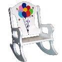 Balloon Fun Rocking Chair, Kids Chairs | Personalized Kids Chairs | Comfy | ABaby.com