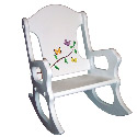 Personalized Butterfly Branch Rocking Chair, Kids Rocking Chairs | Kids Rocker | Kids Chairs | ABaby.com
