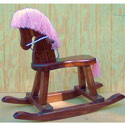 Girls Rocking Horse , Kids Rocking Horse | Personalized Rocking Horses | ABaby.com