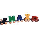 Personalized Name Train, Personalized Nursery Decor | Baby Room Decor | ABaby.com