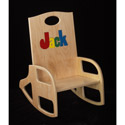 Name Rocking Chair, Kids Rocking Chairs | Kids Rocker | Kids Chairs | ABaby.com
