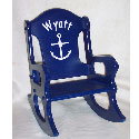 Personalized Sailor Rocking Chair, Kids Rocking Chairs | Kids Rocker | Kids Chairs | ABaby.com