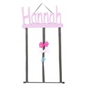 Personalized Bow Holder, Nursery Storage Solutions | Kids Toy Organizer | ABaby.com