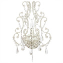 Beaded Whimsical Wall Sconce
